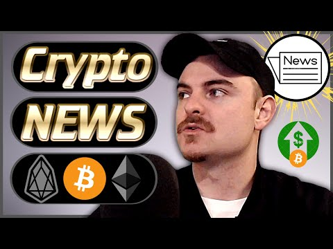 Crypto News Weekly #51 – Bitcoin Squeeze! – EOS News Brendan Blumer! – Ethereum Istanbul & More!