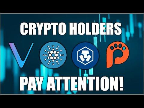 Crypto Holders MUST be Aware.. Cardano Vechain Crypto.com !!BIG NEWS!!