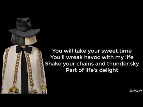 Sia & Creep – Dim The Lights (Lyrics)