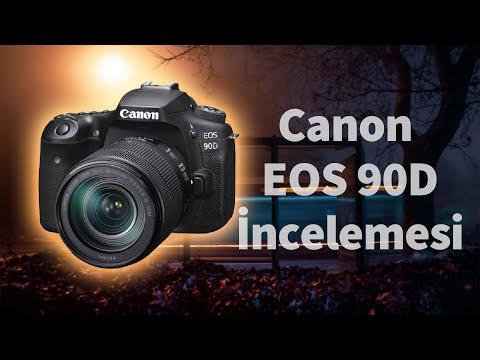 Canon EOS 90D Kit İncelemesi – Kutay Kösem