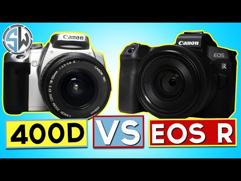 Canon 400D Vs EOS R!