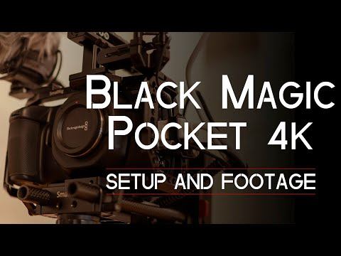 BLACK MAGIC 4K Setup and Footage