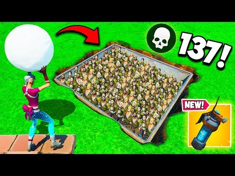 *NEW RECORD* 137 BOT KILLS IN 5 SECONDS!! – Fortnite Funny Fails and WTF Moments! #781