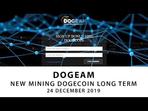 DOGEAM.COM  . NEW MINING DOGECOIN LONG TERM