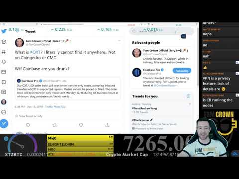 Orchid (OXT), Tezos (XTZ), & the Dec 16th Conspiracy – Episode #16