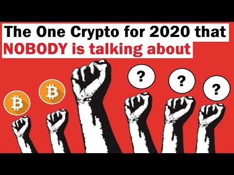 The One Crypto for 2020 that NOBODY is Talking About