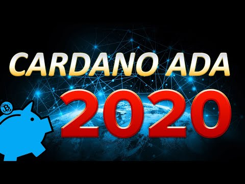CARDANO is set to BOOM in 2020! The Year of CARDANO ADA!!