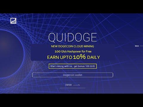QuiDoge – Dogecoin cloud mining   Review