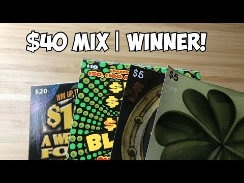 Winner! | $40 Mix of Tix