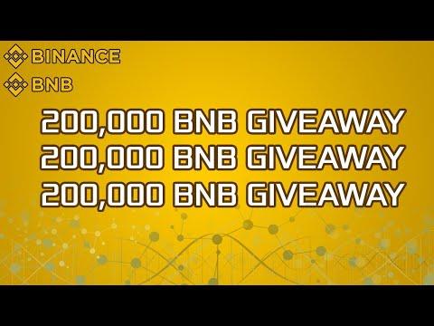 🔴BNB Coin Binance CZ Announce 200 000 BNB GIVEAWAY 🔴