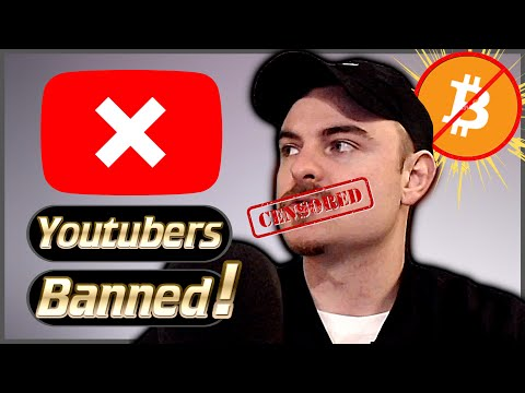 Crypto Youtubers Are Getting Censored!? Why Is Youtube Banning Crypto?
