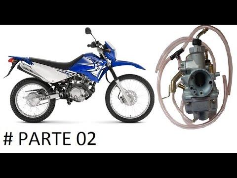 Limpeza e regulagem de carburador Yamaha XTZ 125cc_Parte 2