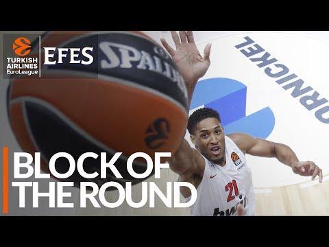 Efes Block of the Round: Augustine Rubit, Olympiacos Piraeus