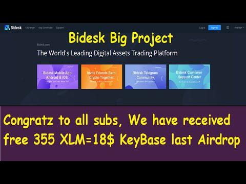 Bidesk exchange  Big Project| Join Bounty 9$ | XTZ Tezos Contest 100 to 1000$ chance