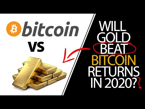 Will Bitcoin Beat Gold in 2020?