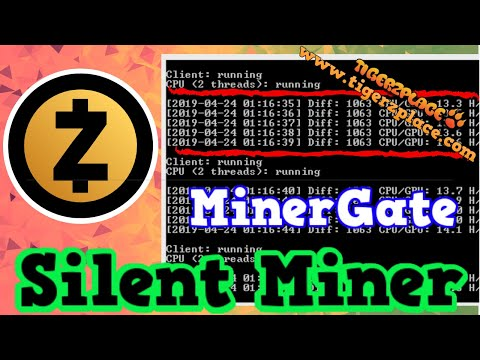 Zcash Mining w/ ZEC Silent Miner Minergate — [Latest 2019]
