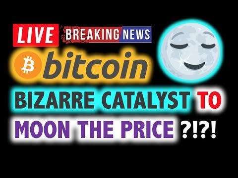 BITCOIN💥BIZARRE CATALYST Could MOON PRICE?💥 LIVE Crypto Analysis TA & 2020 BTC Cryptocurrency News