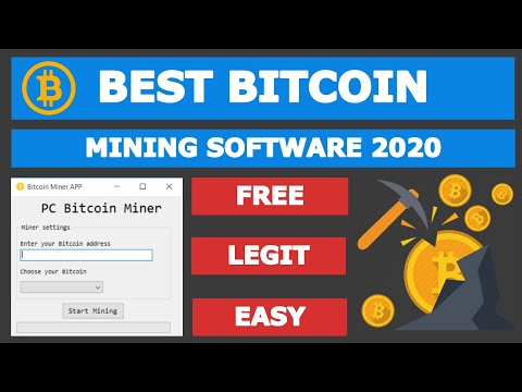 Best Free Bitcoin Mining Software PRO