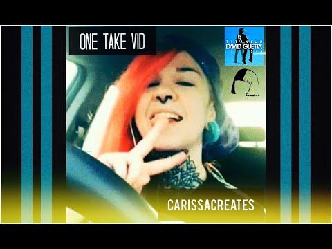 Titanium [one take] Cover by CarissaCreates (Originally by David Guetta ft. Sia)