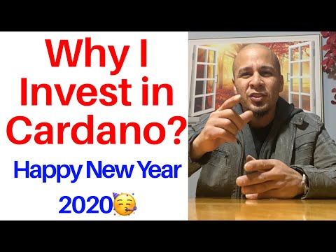 Why I Invest in Cardano ADA Coin? New Year Special 2020