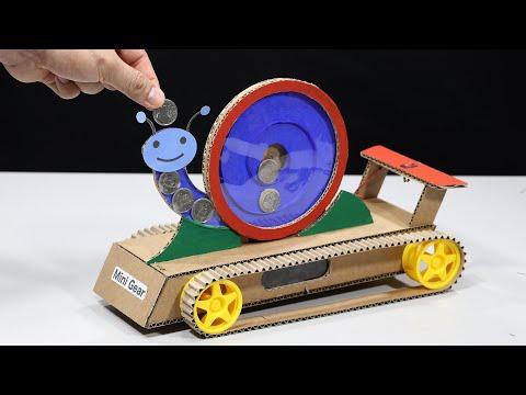 Build 2 in 1 – Coin Saving and Custom Snail Car