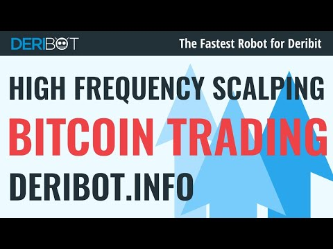 Bitcoin Live Trading With Crypto Trading Robot DeriBot. Live Bitcoin Price Chart.