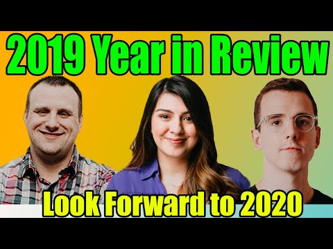 2019 EOS Recap and Look Forward to 2020 w/ new Cypherglass CEO Adrianna Mendez. Rob's Final Episode.
