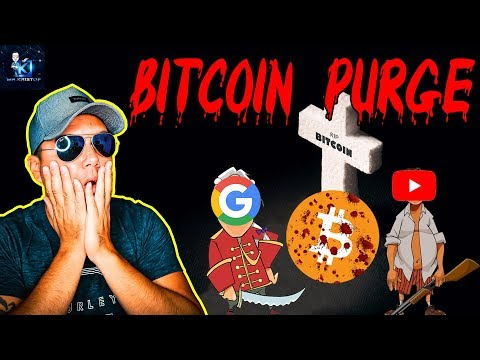 Bitcoins future was just revealed to us! Bitcoins 2020 challenges! YouTube crypto PURGE!