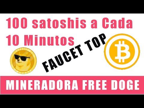 100 Satoshis a Cada 10 MINUTOS + Mineração FREE Doge