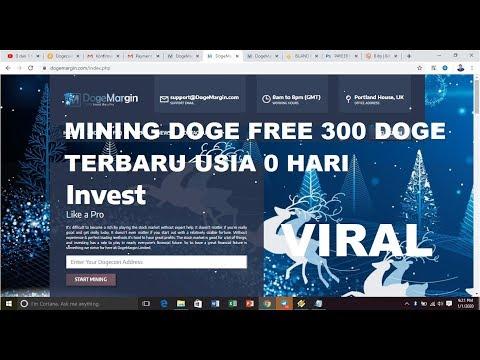 MINING DOGE FREE 300 DOGE YANG LAGI VIRAL II USIA 0 HARI II BURUAN
