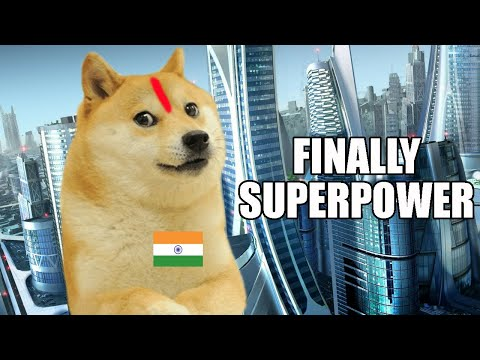 Doge wakes up in Indian Superpower