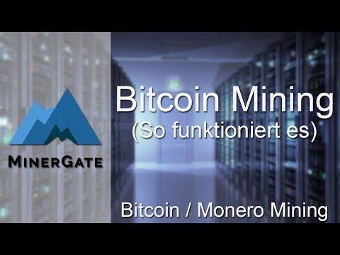 WIE DU BITCOIN MIT CPU/GPU MINEN KANNST | Minergate | Tutorial Deutsch