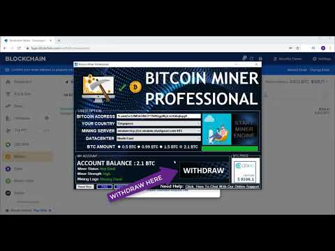 How To Get 2.1 BTC For Free – BITCOIN MINER PRO