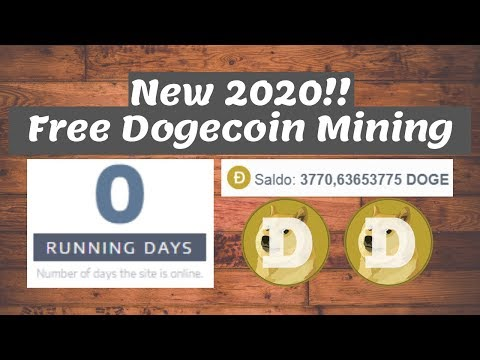 RUN DAY 0 – FREE DOGE MINING 2020 + LIVE WD + GIVEAWAY