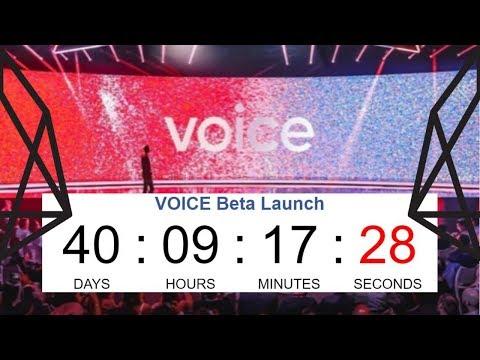 Voice Launch Countdown – EOS Voice