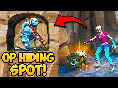 *NEW TRICK* HIDE INSIDE CAVE WALLS!! – Fortnite Funny Fails and WTF Moments! #791