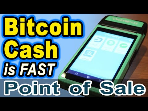 🔵 New FAST Bitcoin Cash Point-of-Sale Merchant Terminal by EletroPay for a bit over $100
