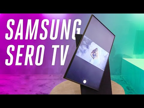 Samsung's new 8K bezel-less and rotating TVs at CES 2020