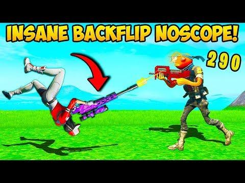 *INSANE* BACKFLIP NO SCOPE – Fortnite Funny Fails and WTF Moments! #792