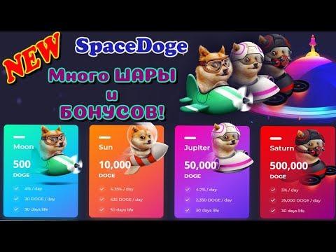 💰 SpaceDoge  – СУПЕР ПРОЕКТ С КУЧЕЙ ШАРЫ!! Зарабатываем DogeCoin!