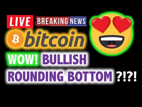 BITCOIN 💥WOW! BULLISH ROUNDING BOTTOM? 💥❗️ LIVE Crypto Analysis TA & BTC Cryptocurrency Price News
