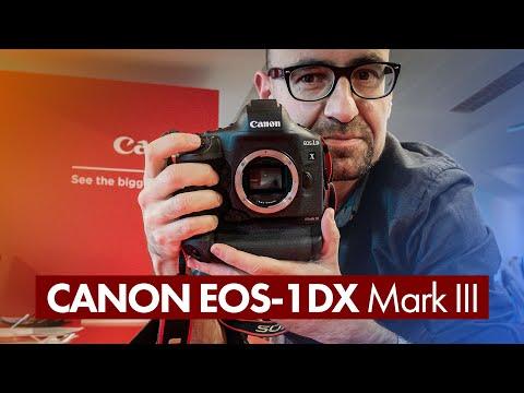 Canon EOS-1DX Mark III: así es la SLR más potente del momento