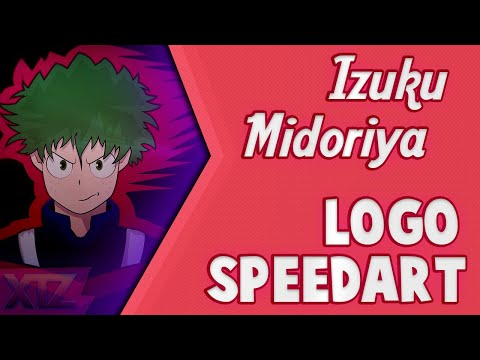 MY HERO ACADEMIA SPEEDART | Izuku Midoriya Design | XTZ Graphics