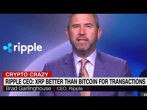 XRP News Brad Garlinghouse live about the  first Crazy Crypto Monday in 2020