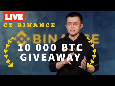 🔴 BINANCE LIVE BITCOIN GIVEAWAY 🔴 CZ announce BTC GiveAway! 🔴