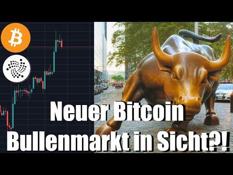 Neuer Bullenmarkt ?! Bitcoin kurz vor der Trendwende ! Kann IOTA nachziehen? BTC/IOTA TA Preis DE