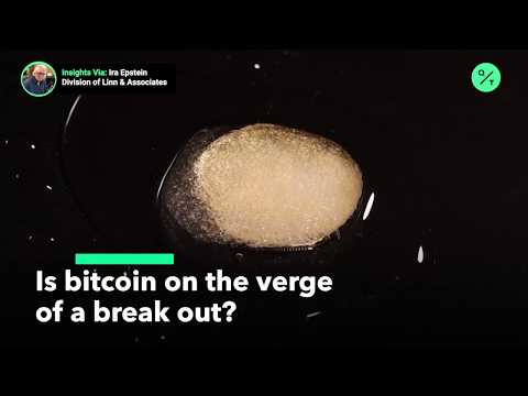 Is bitcoin on the verge of a breakout?