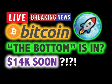 BITCOIN 💥Is THIS The Bottom? $14K SOON?💥❗️ LIVE Crypto Analysis TA & BTC Cryptocurrency Price News