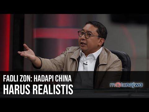 Ada China di Natuna – Fadli Zon: Hadapi China Harus Realistis (Part 6) | Mata Najwa