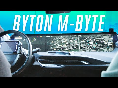This Byton electric car has a 48-inch screen